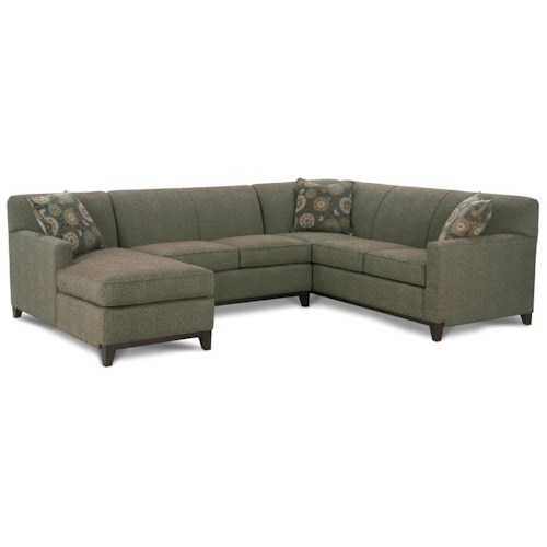 Rowe Martin 3 Piece Sectional Sofa Becker Furniture World Sofa Sectional Twin Cities