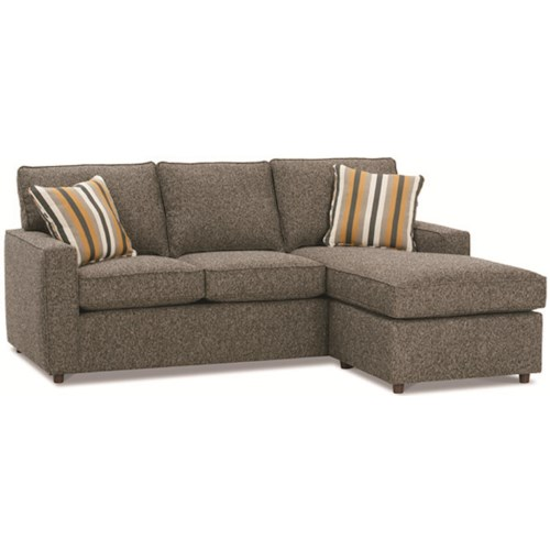 Sectional Sofa Couch Reversible Chaise Ottoman Furniture: Rowe Monaco Contemporary Sofa With Reversible Chaise