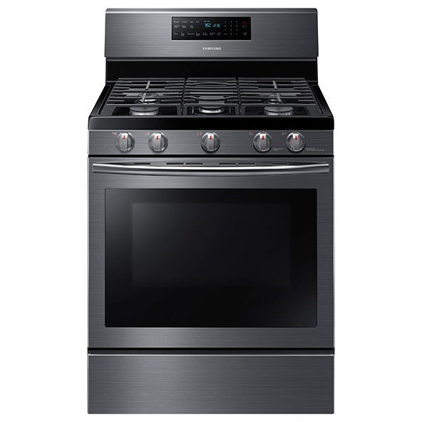 Samsung Appliances 5.8 cu. ft. Capacity Convection Range with Flexible Cooktop - Ivan Smith ...