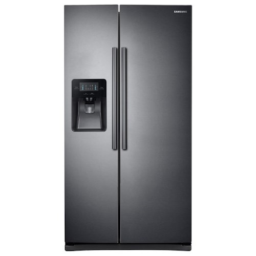 samsung appliances 25 cu ft side by side refrigerator. Black Bedroom Furniture Sets. Home Design Ideas