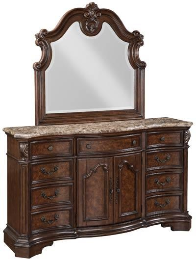 Samuel Lawrence Monticello Collection Dresser Mirror