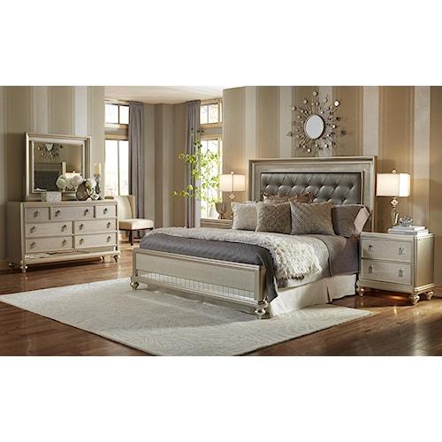 home bedroom group samuel lawrence diva diva queen bedroom group