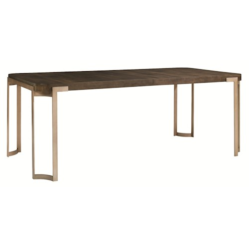 Schnadig modern artisan artisans dining table stoney Schnadig coffee table