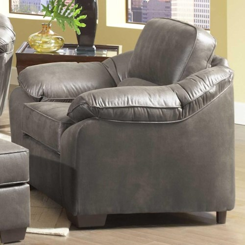 Serta Upholstery By Hughes Furniture 3800 Comfortable Accent Chair Colder 39 S Furniture And