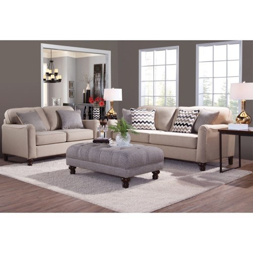 serta upholstery by hughes furniture 4050 stationary living room group colder 39 s furniture and. Black Bedroom Furniture Sets. Home Design Ideas