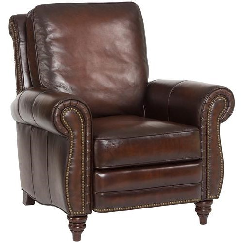 Hooker furniture reclining chairs traditional leather for Traditional leather furniture