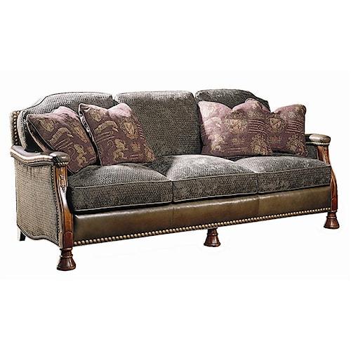 Sherrill Masterpiece M411 Sofa Baer 39 S Furniture Sofa Boca Raton Naples Sarasota Ft Myers