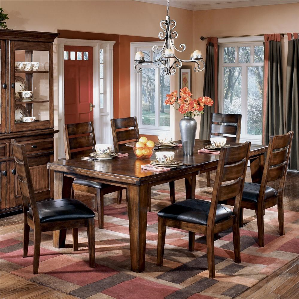 Signature Design by Ashley Larchmont 7Pc Dining Room  : larchmontd442 45 6 01 bjpgscalebothampwidth500ampheight500ampfsharpen25ampdown from www.wayside-furniture.com size 500 x 500 jpeg 84kB