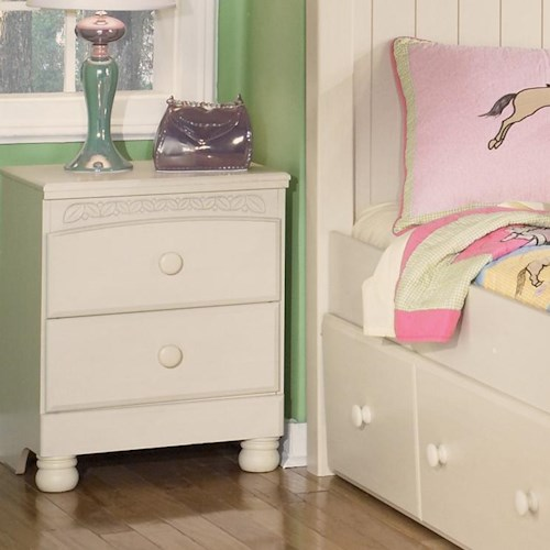 Signature Design By Ashley Cottage Retreat B213 92 2 Drawer Nightstand Northeast Factory