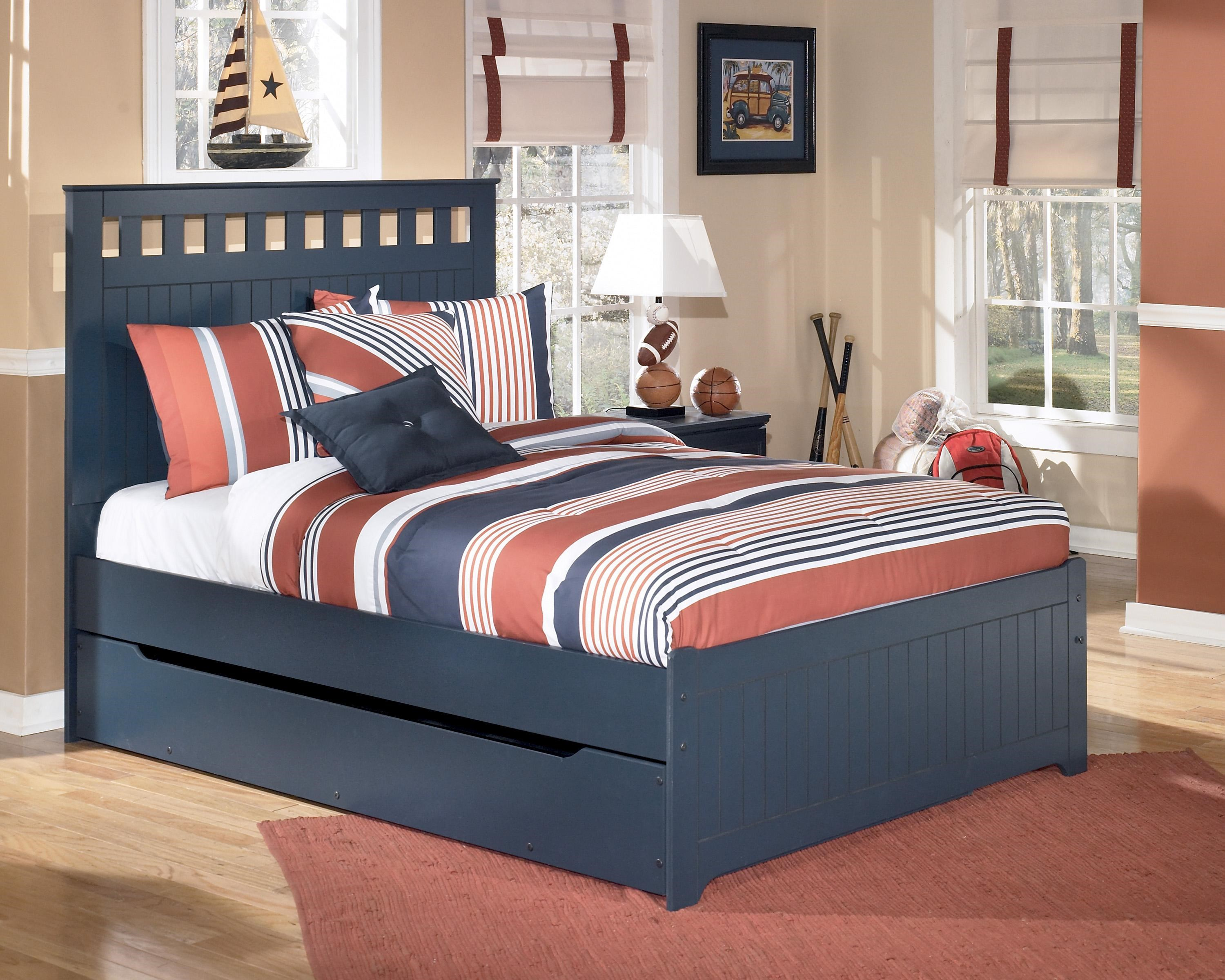 Signature Design by Ashley Leo Full Bed with Storage