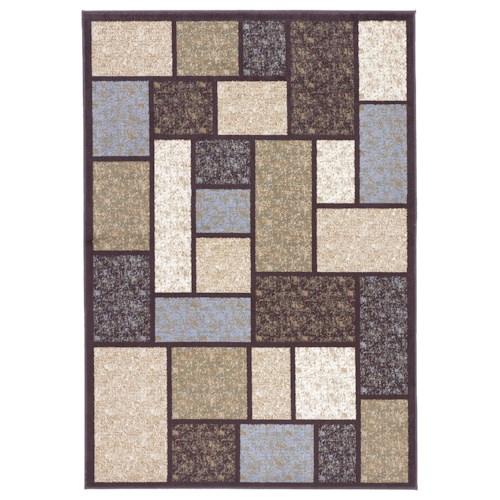 Signature Design By Ashley Contemporary Area Rugs Keswick Brown Area Rug Household Furniture