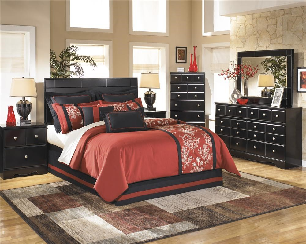 Signature Design by Ashley Shay 5 Piece Queen Full Bedroom