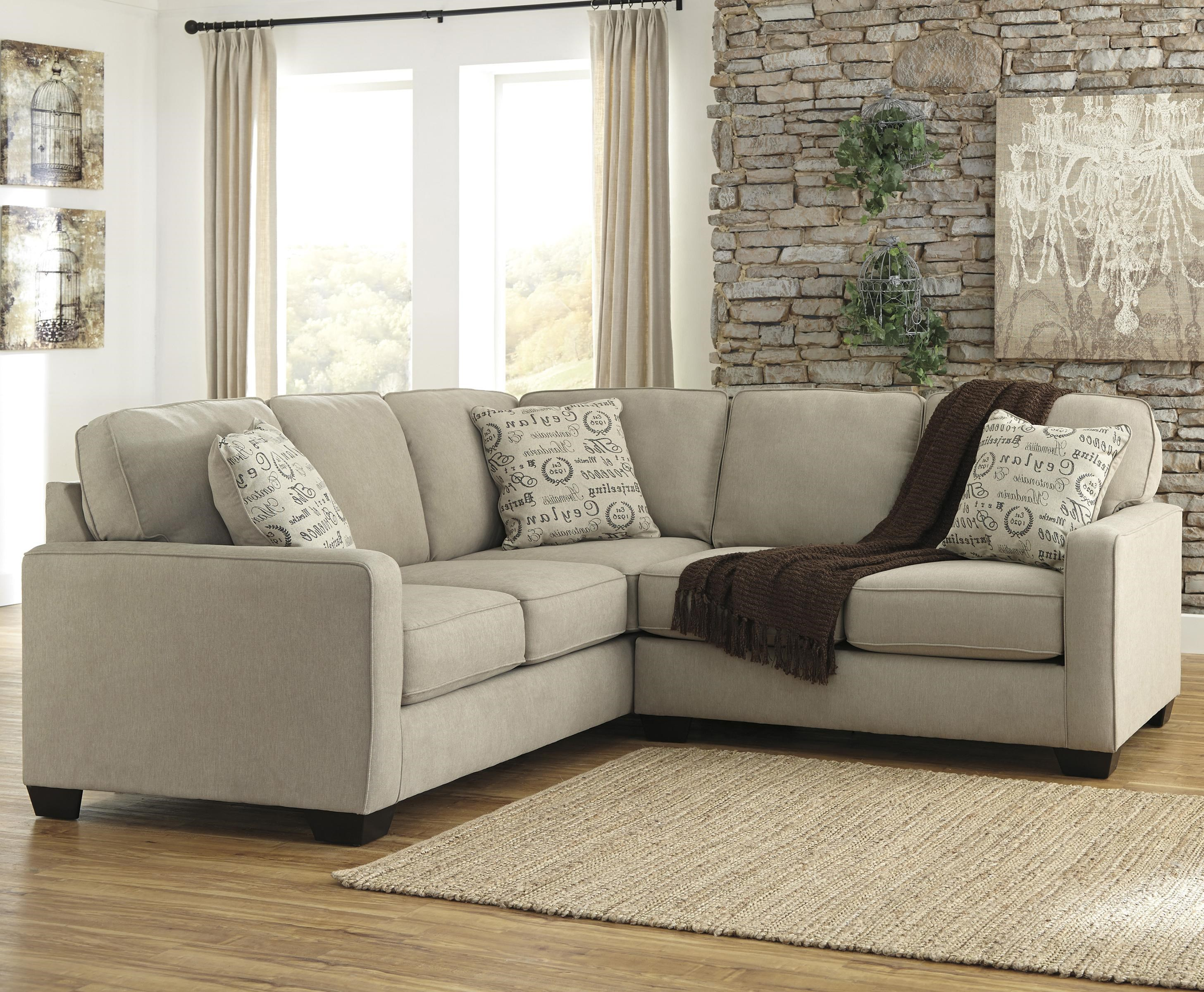 Signature Design by Ashley Alenya - Quartz 2-Piece Sectional with Right Loveseat - Dream Home ...