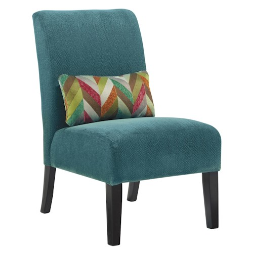 Signature Design By Ashley Annora Teal Contemporary
