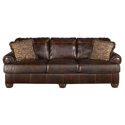Ashley signature design axiom walnut 4200038 for Furniture 0 down