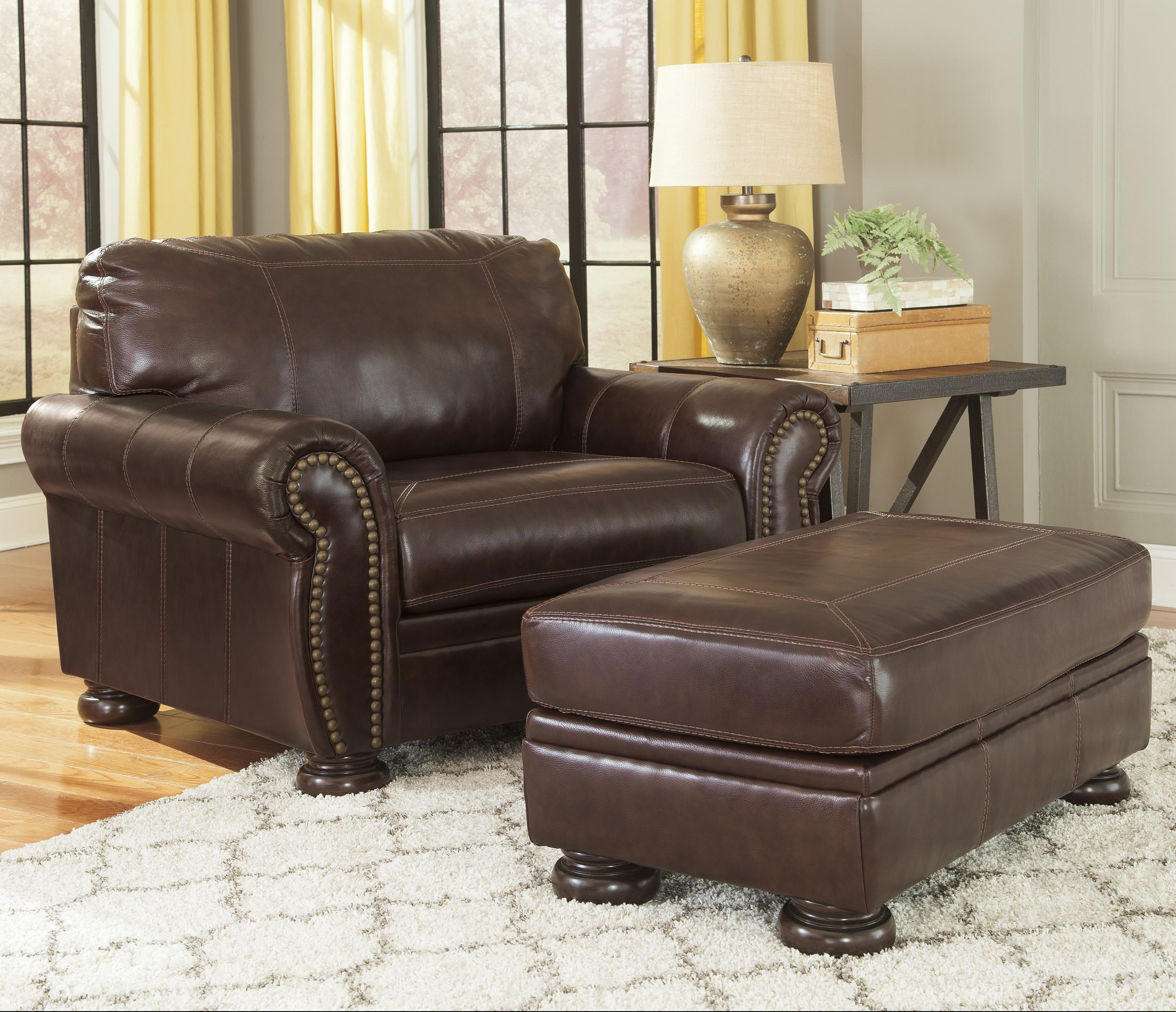 Signature Design by Ashley Banner Traditional Leather