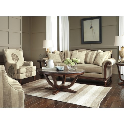 Signature Design By Ashley Berwyn View Stationary Living Room Group Del Sol Furniture