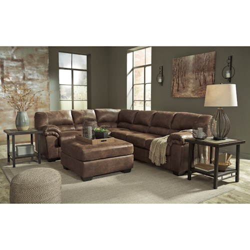 Signature Design By Ashley Bladen Stationary Living Room Group Wayside Furn