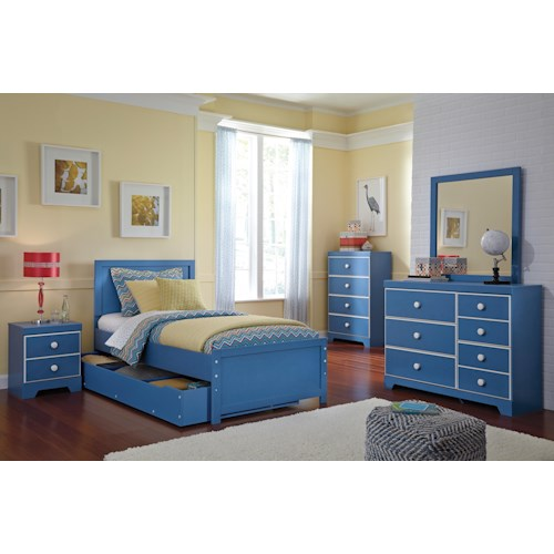 Signature design by ashley bronilly twin bedroom group Bedroom furniture stores indianapolis