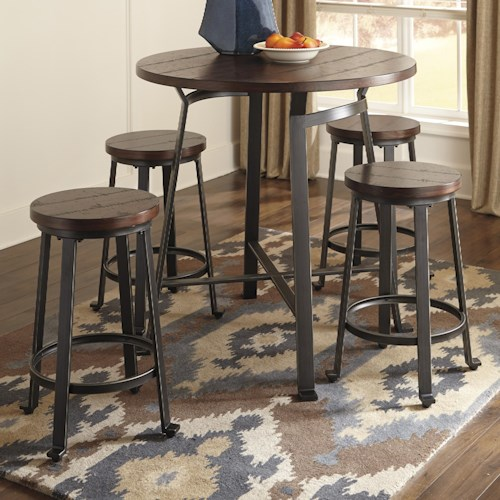 round counter table set colder 39 s furniture and appliance pub table