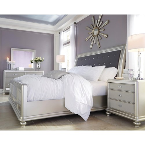 Signature Design By Ashley Coralayne Queen Bedroom Group Furniture And Appliancemart Bedroom