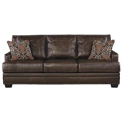 Signature Design By Ashley Corvan Sofa Royal Furniture Sofas Memphis Jackson Nashville