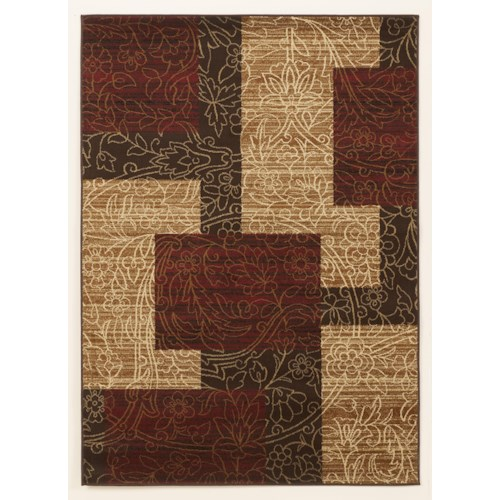 signature design by ashley cottage area rugs rosemont red medium rug wayside furniture rug