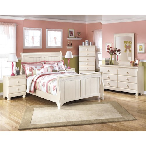 Signature Design By Ashley Cottage Retreat Full Bedroom Group Furniture And Appliancemart