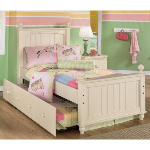 Signature design by ashley furniture cottage retreat twin - Cottage retreat bedroom furniture ...