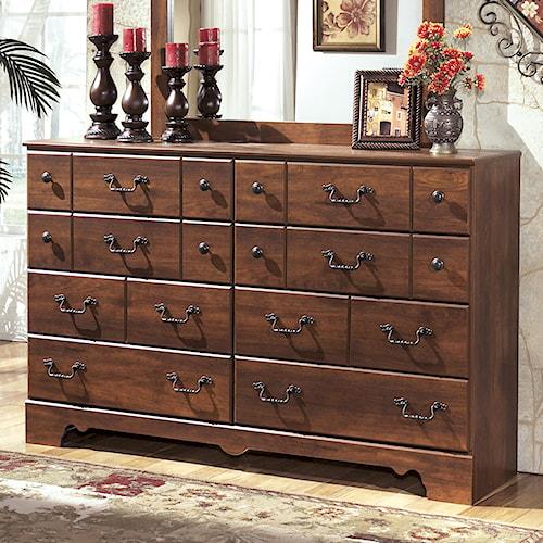 Signature Design By Ashley Timberline 8 Drawer Dresser