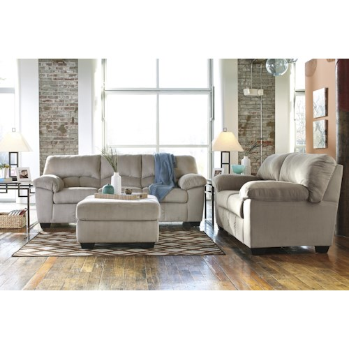 Signature Design By Ashley Dailey Stationary Living Room Group Northeast Factory Direct