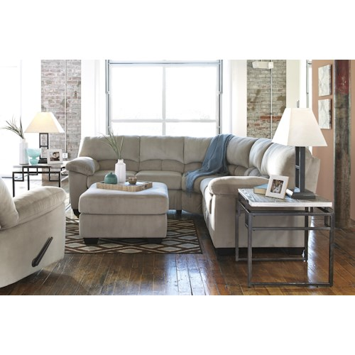 Signature Design By Ashley Dailey Stationary Living Room Group Zak 39 S Fine Furniture