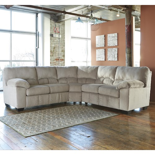 Signature Design By Ashley Dailey Sectional Del Sol