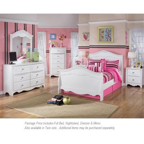 Signature Design By Ashley Exquisite 4 Pc Full Bedroom Miskelly Furniture Bedroom Group