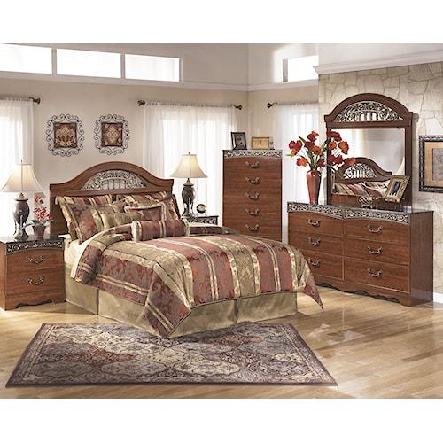 Signature Design By Ashley Fairbrooks Estate Queen Bedroom