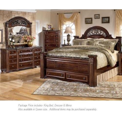 Signature Design By Ashley Gabriela 3PC King Bedroom