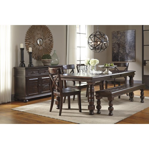 Dining Room Groups Ashley Signature Design Gerlane Casual Dining Room
