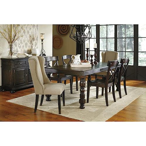 signature design by ashley gerlane casual dining room. Black Bedroom Furniture Sets. Home Design Ideas