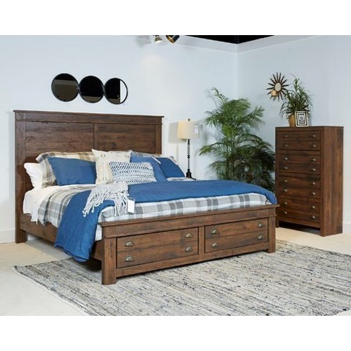 Signature Design By Ashley Hammerstead Queen Bedroom Group Godby Home Furnishings Bedroom