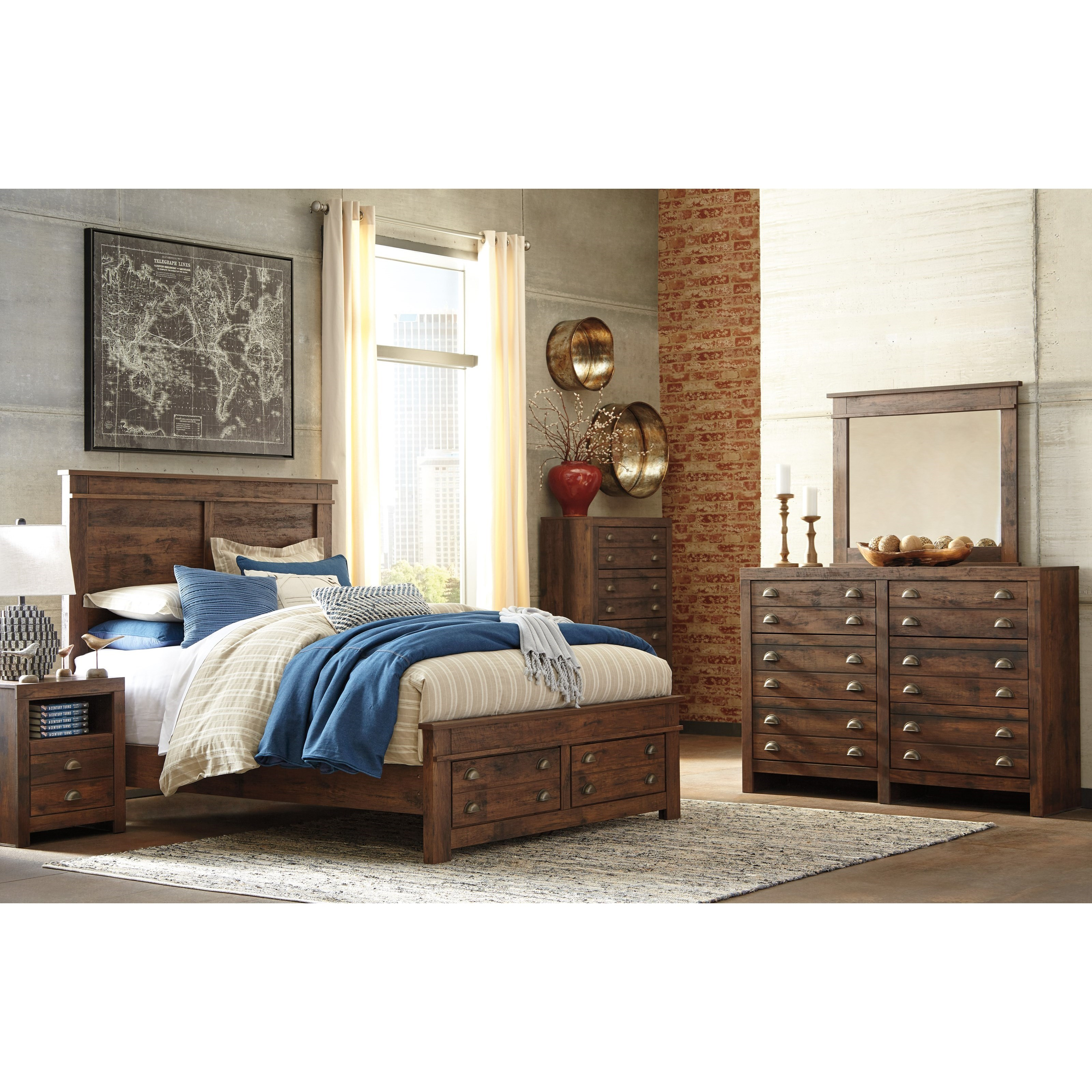 Signature Design by Ashley Hammerstead Queen Bedroom Group