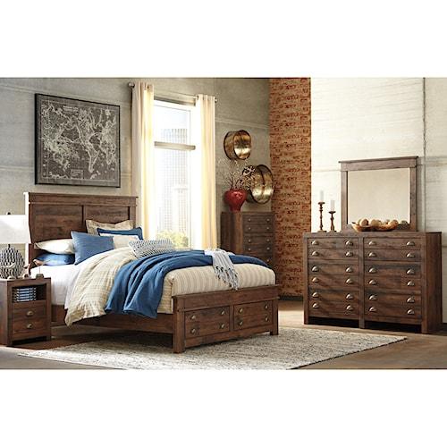 Signature Design By Ashley Hammerstead Queen Bedroom Group Standard Furniture Bedroom Groups