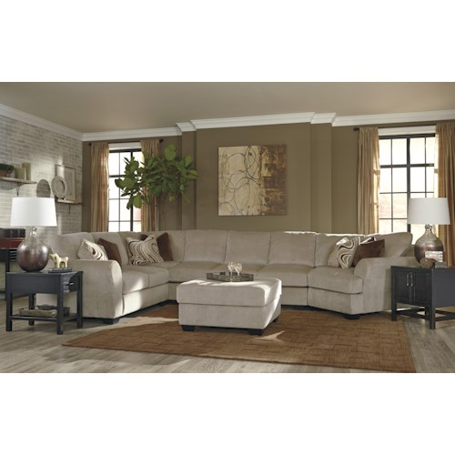 Jb king hazes stationary living room group efo furniture for Living room jb