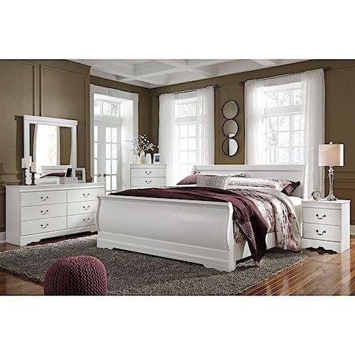 Signature Design By Ashley Furniture Anarasia King Bedroom Group Sam 39 S