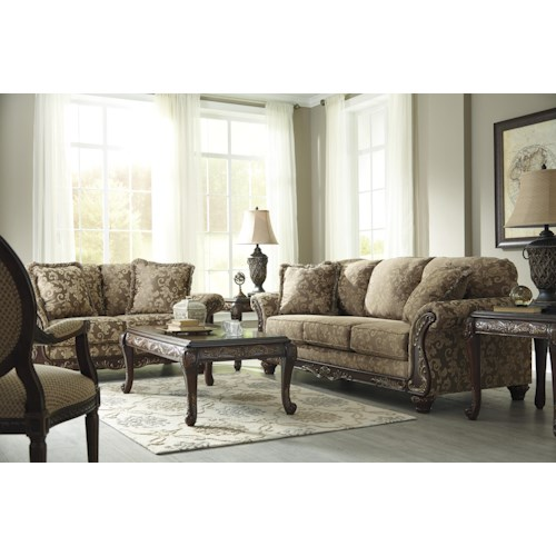 Signature Design By Ashley Irwindale Stationary Living Room Group Wayside F