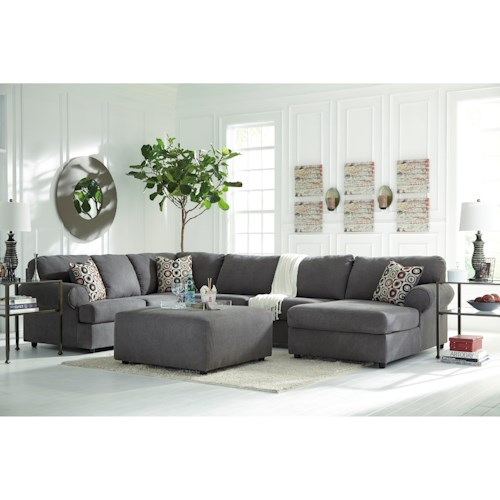 Signature Design By Ashley Jayceon Stationary Living Room Group Wayside Fur