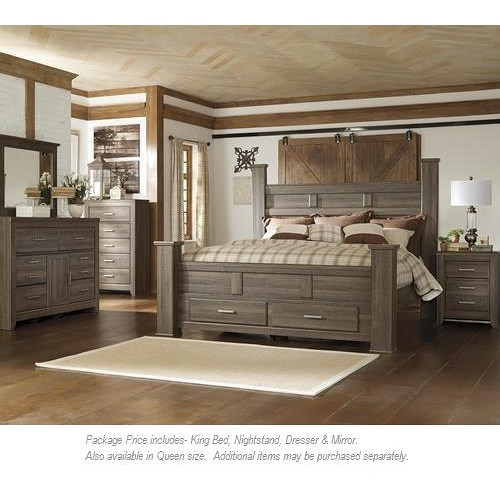 Signature Design By Ashley Juararo 4pc King Bedroom Miskelly Furniture Bedroom Group Jackson