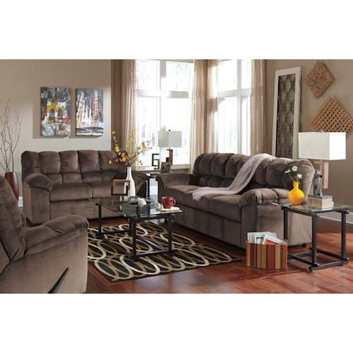 Signature Design By Ashley Julson Cafe Stationary Living Room Group Standard Furniture