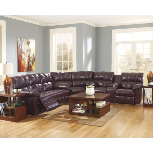 home living room furniture reclining sectional sofas signature design