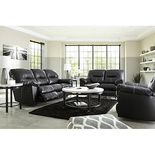 ashley signature design kilzer durablend reclining