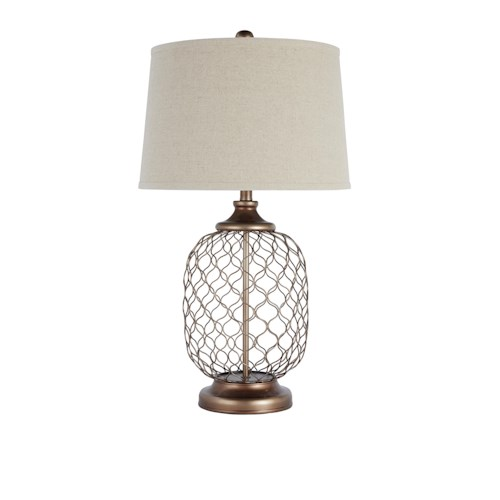by ashley lamps vintage style metal table lamp at wayside furniture. Black Bedroom Furniture Sets. Home Design Ideas